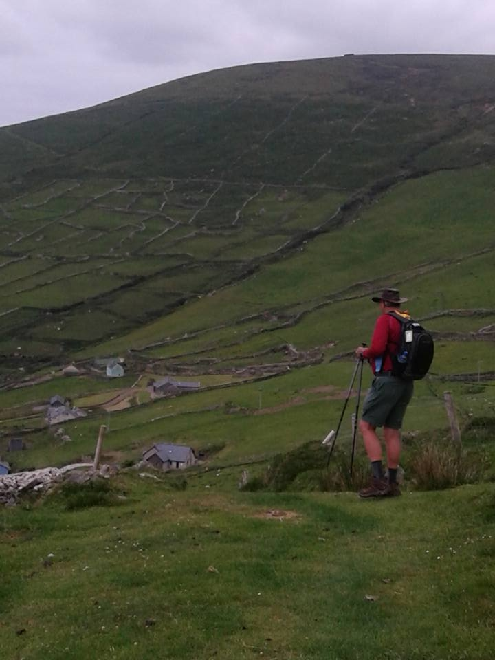 Allen Hiking in Ireland - June 2018